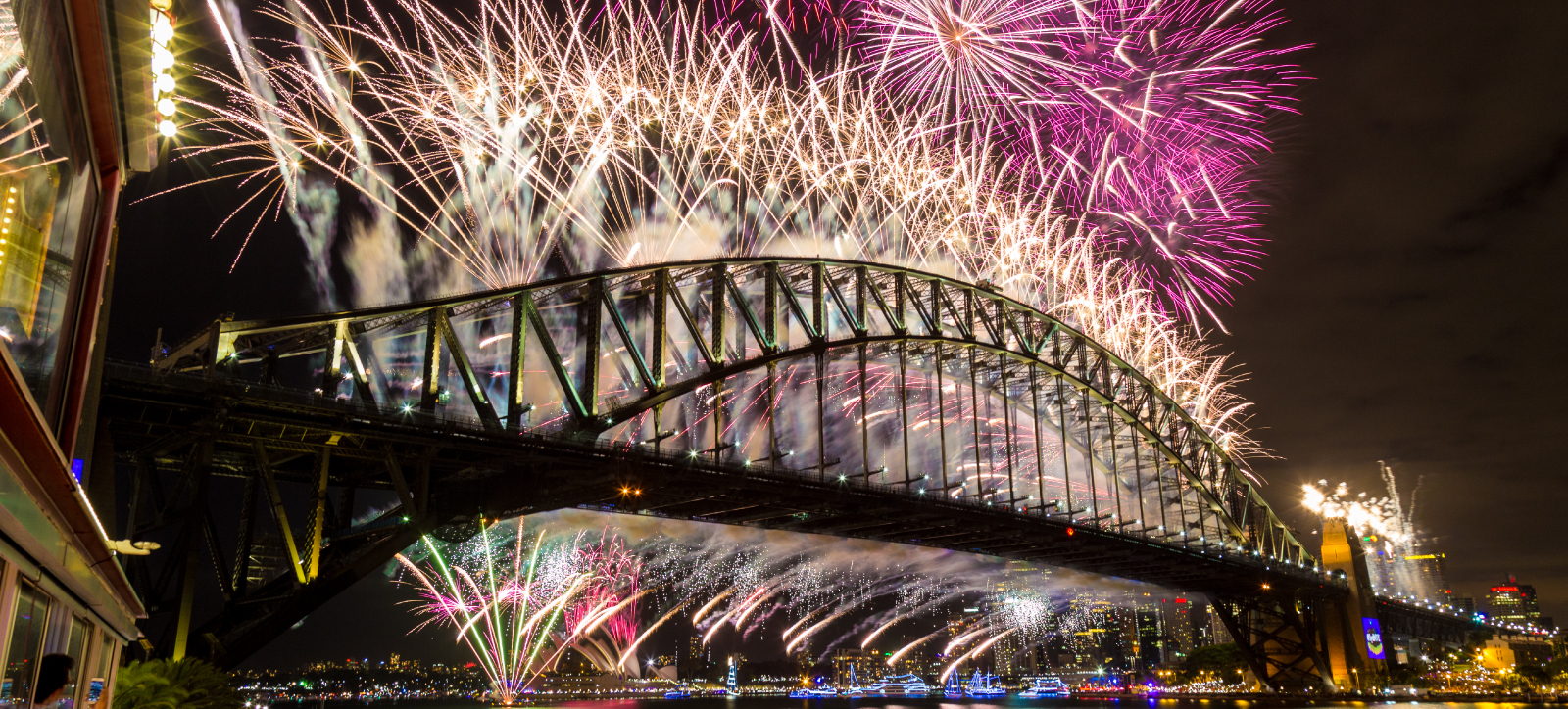 Harbour Party NYE 2018   New Years Eve at Luna Park Sydney