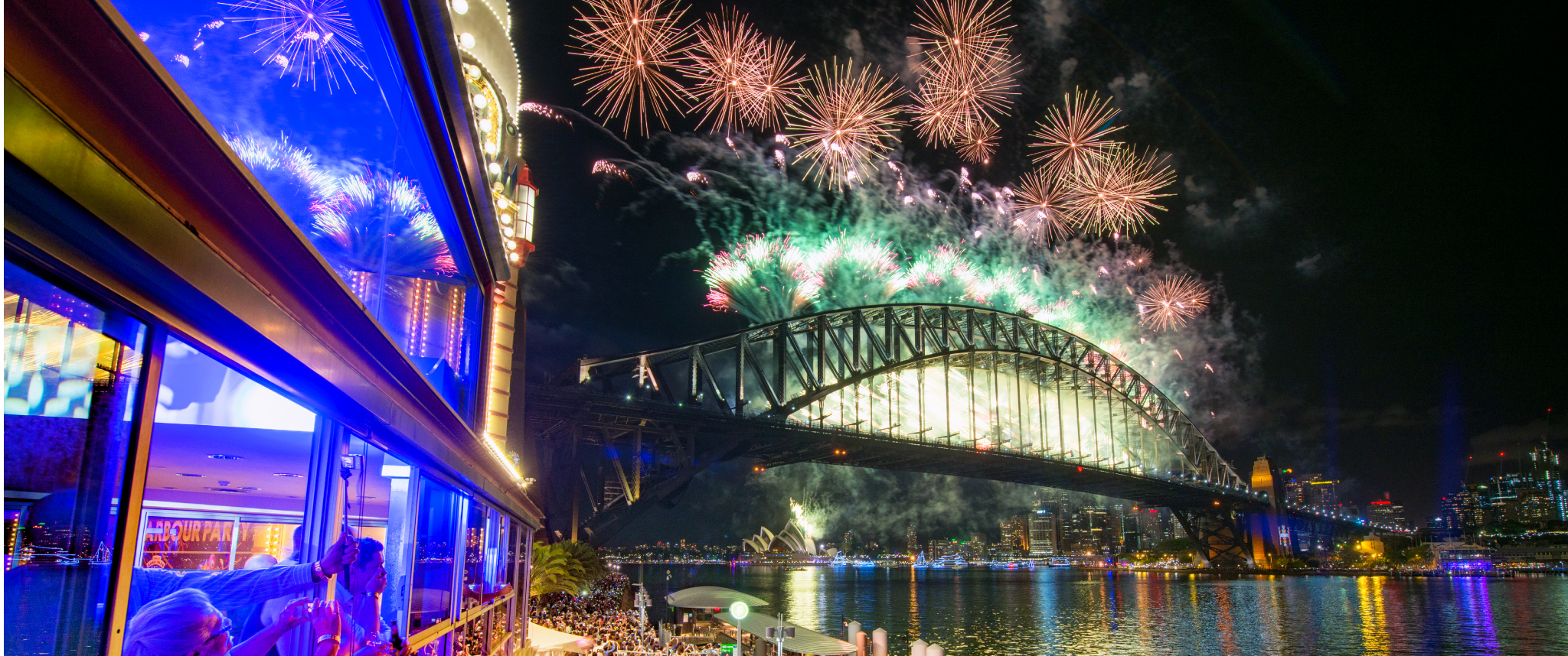 harbour party nye 2017 new years eve at luna park sydney